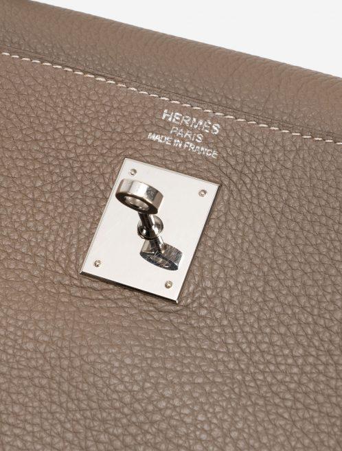 Hermès Kelly 35 Clemence Etoupe Hardware