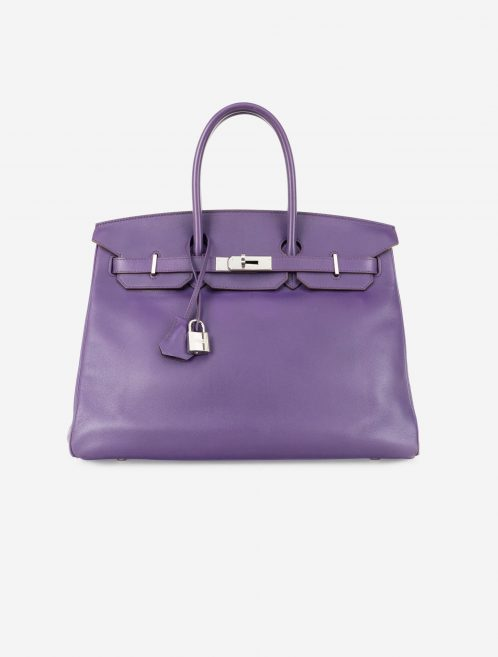 Hermès Birkin 35 Swift Iris Front