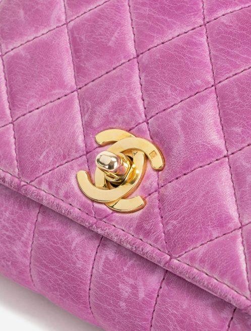Vintage Chanel Timeless Micro Bag Calfskin Pink Hardware