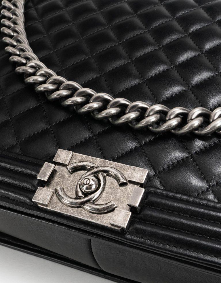 Chanel Boy Large Lamb Black Hardware