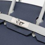 Hermès Birkin 30 Blue Encre Gris Mouette HSS Clasp