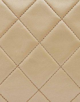 Chanel Beige Lambskin leather
