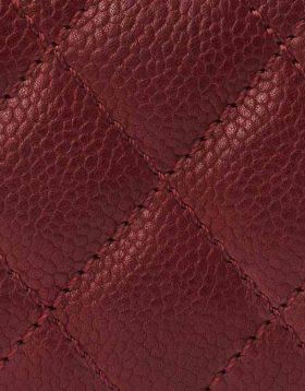 Chanel Burgundy Caviar leather