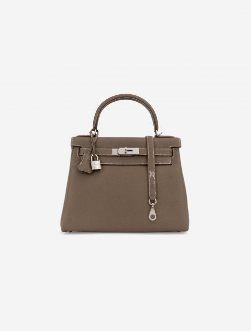 Hermès Kelly 28 Clemence Etoupe