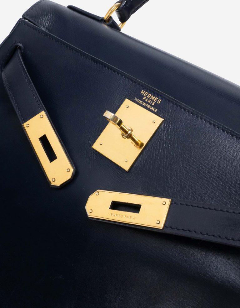 Hermès Kelly 28 Box Bleu Marine