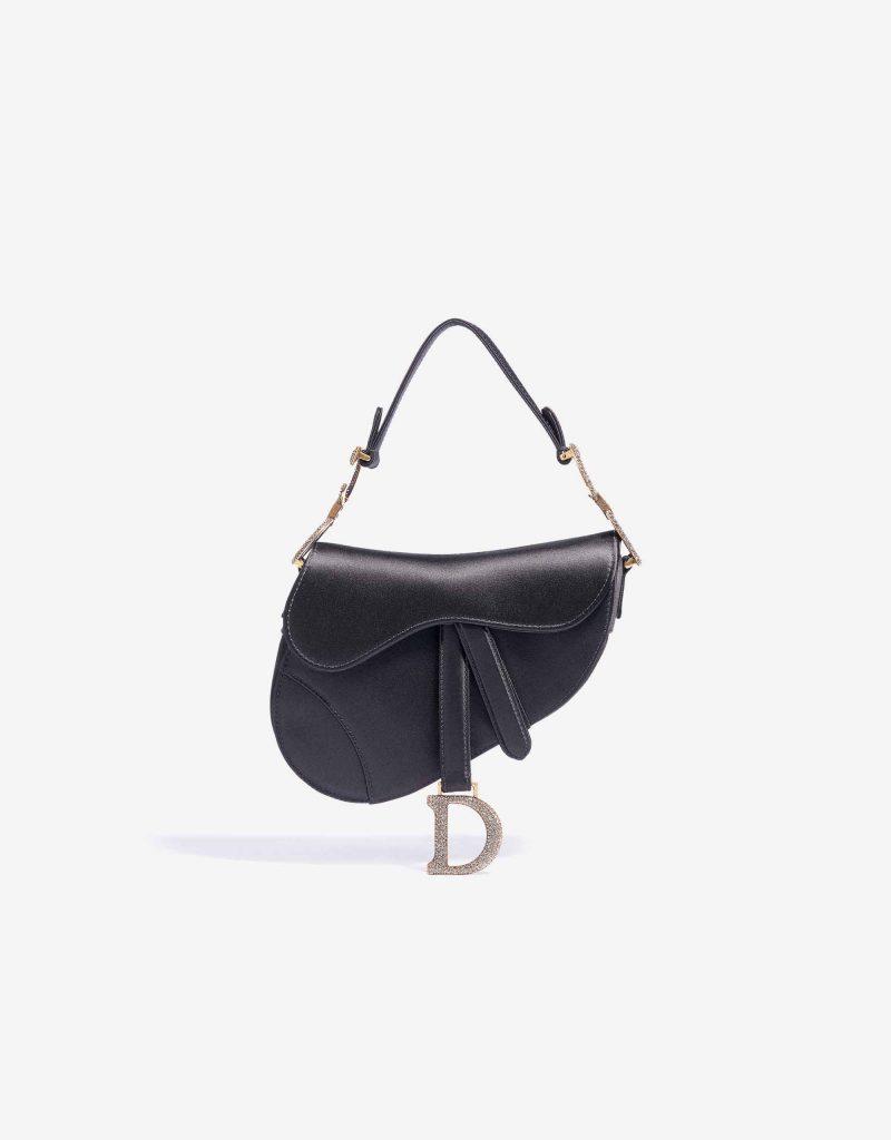 Dior Saddle Mini Satin / Swarovski Black SACLÀB