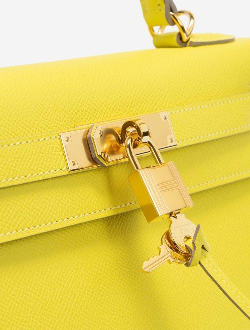 Hermès Kelly 28 Epsom Lime