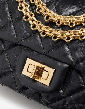 Chanel 2.55 Reissue Mini Calf Black