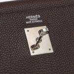 Hermès Kelly 35 Clemence Chocolate