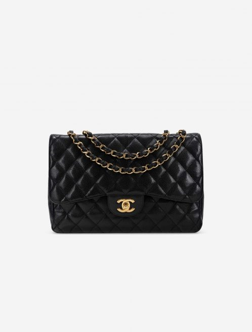 Chanel Timeless Jumbo Caviar Black