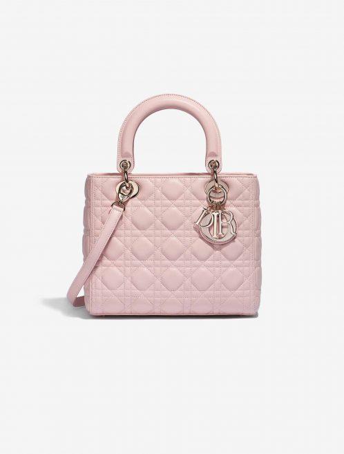Dior Lady Medium Calf Rose