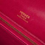Hermès Kelly 32 Ghillies Tadelakt Rubis