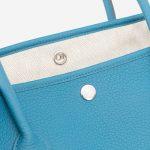 Hermès Garden Party Medium Negonda Blue