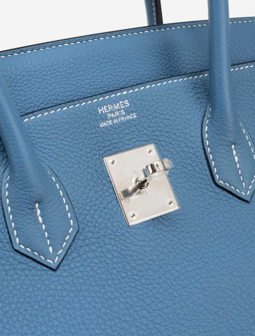 Hermès Birkin 35 Togo Blue Jean
