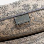 Dior Book Tote Small Toile Beige / Grey
