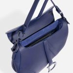 Dior Saddle Medium Calf Blue