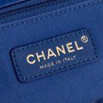 Chanel Timeless Handle Small Caviar Blue