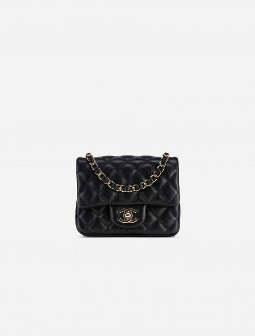 Chanel Timeless Mini Square Lamb Black