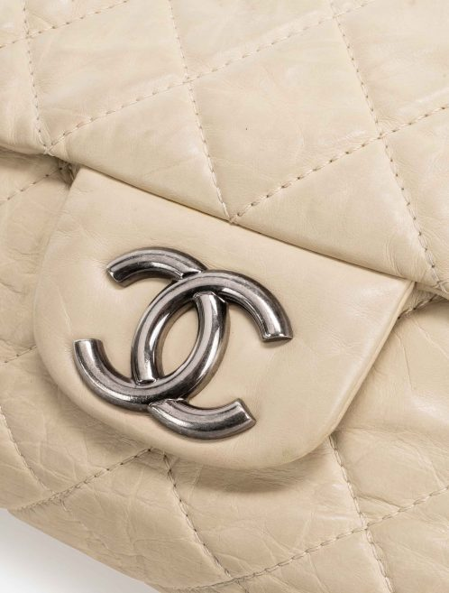 Chanel Timeless Shoulder Bag XXL Aged Lamb Beige
