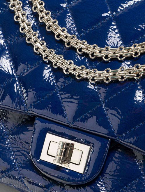 Chanel 2.55 277 Patent Leather Blue