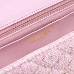 Chanel Timeless Mini Rectangular Tweed Pink