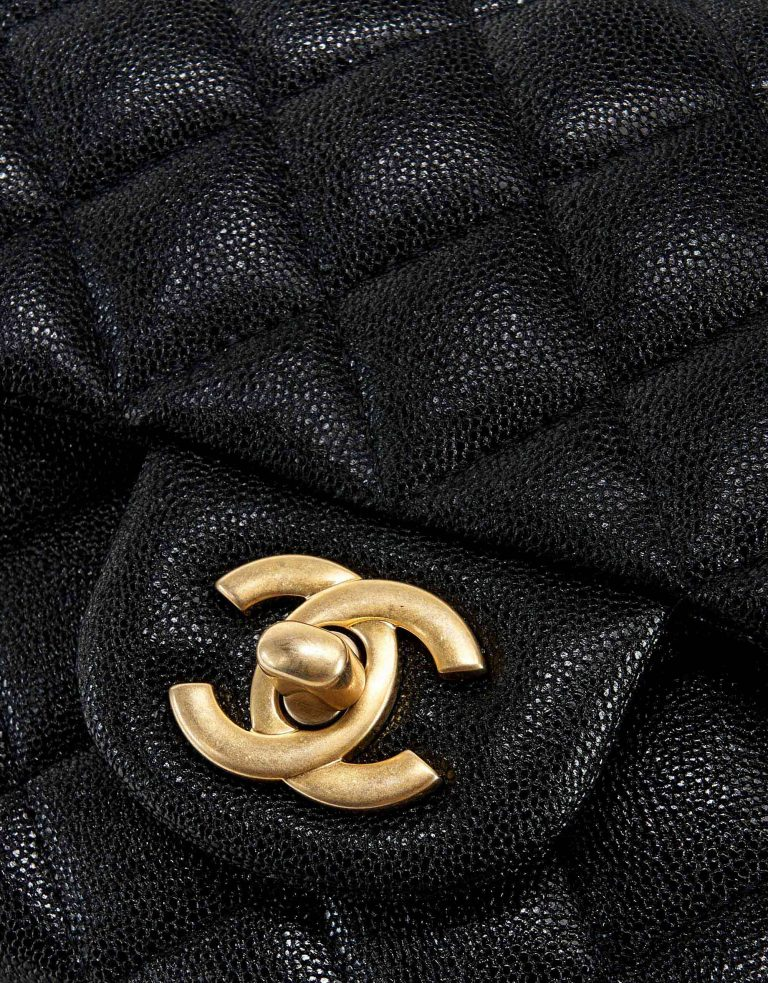 Chanel Timeless Mini Handle Caviar Black