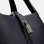 Hermès Picotin 18 Clemence Black