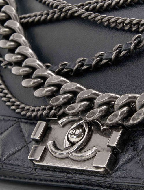 Chanel Boy Medium Calf Black