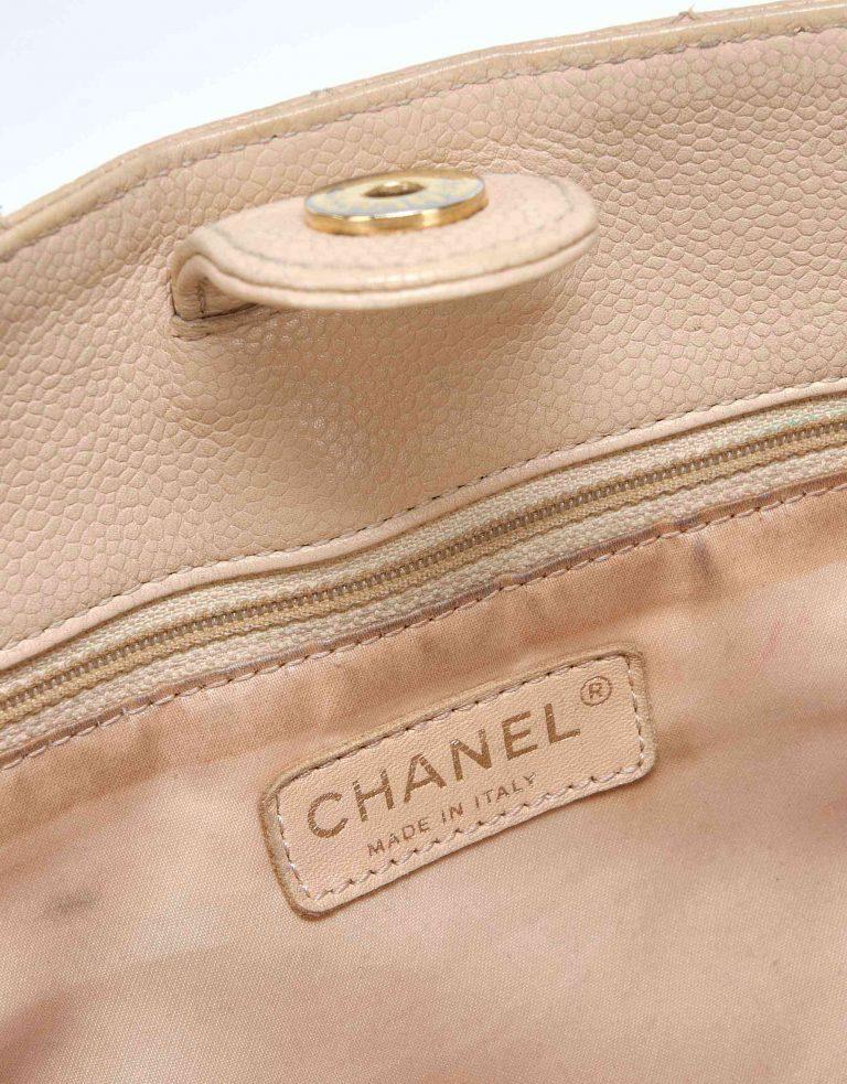 Chanel PST Small Caviar Beige