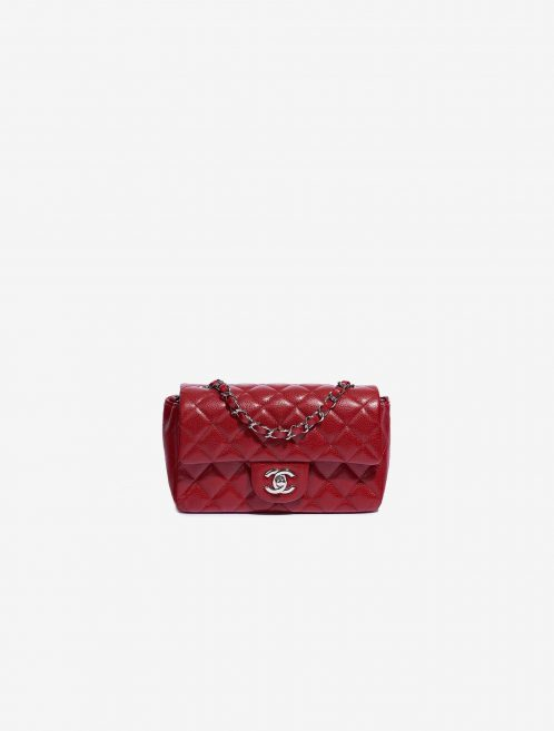 Chanel Timeless Mini Rectangular Caviar Red
