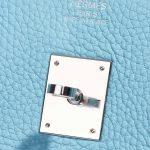 Hermès Birkin 35 Togo Blue Atoll Hardware