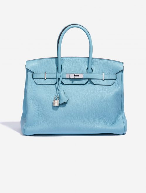 Hermès Birkin 35 Togo Blue Atoll