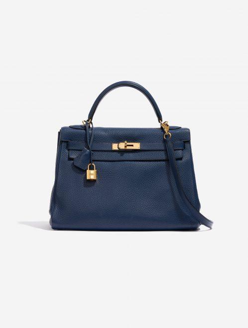 Hermès Kelly 32 Togo Blue de Prusse