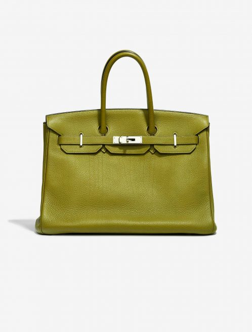 Hermès Birkin 35 Buffalo Sindhu Vert Chartreuse