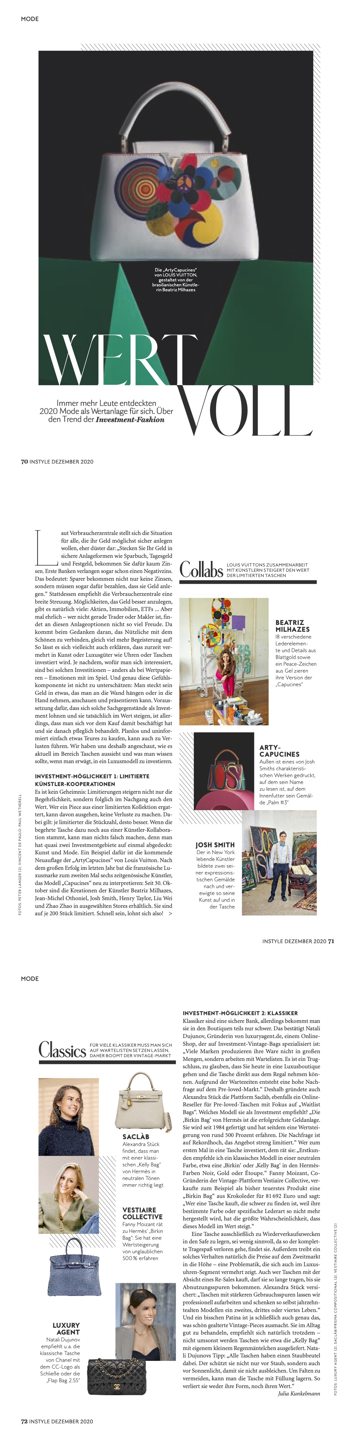 Saclab Featured on InStyle