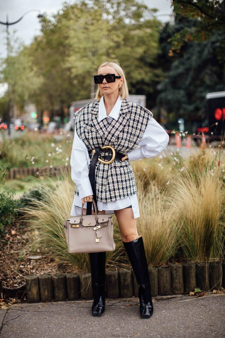 Hermès Birkin Streetstyle Paris SACLÀB
