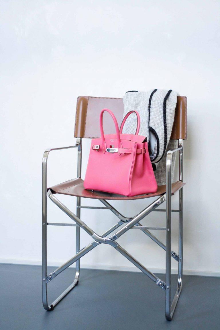 Pre-loved Hermès Birkin 30 HSS Rose Confetti
