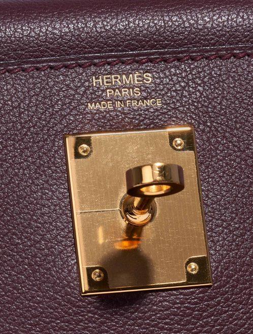 Hermès Kelly 28 Evercolor Prune