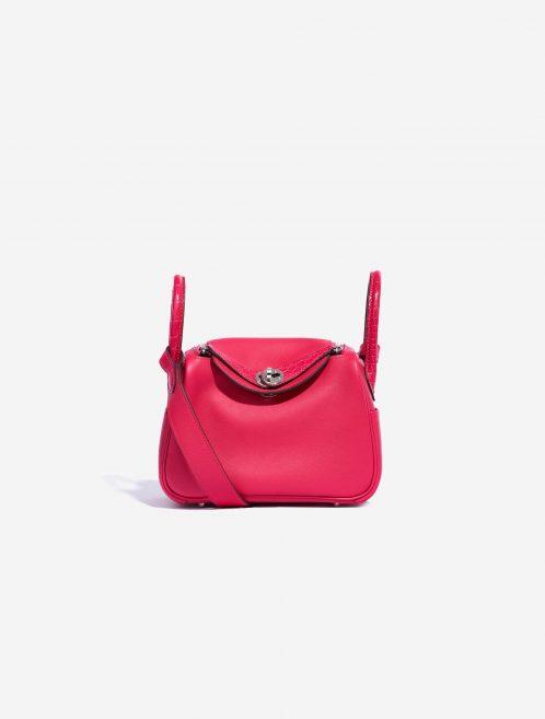 Hermès Lindy Mini Touch Swift / Matte Alligator Framboise