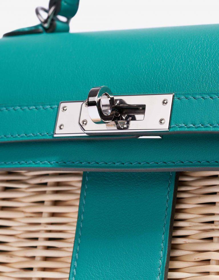 Hermès Kelly Picnic 20 Osier / Swift Vert Verone