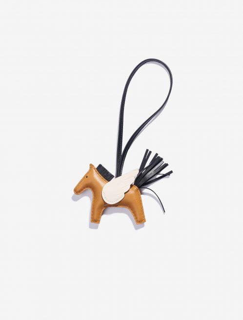 Hermès Rodeo Pegasus Lamb Sésame / Craie / Black