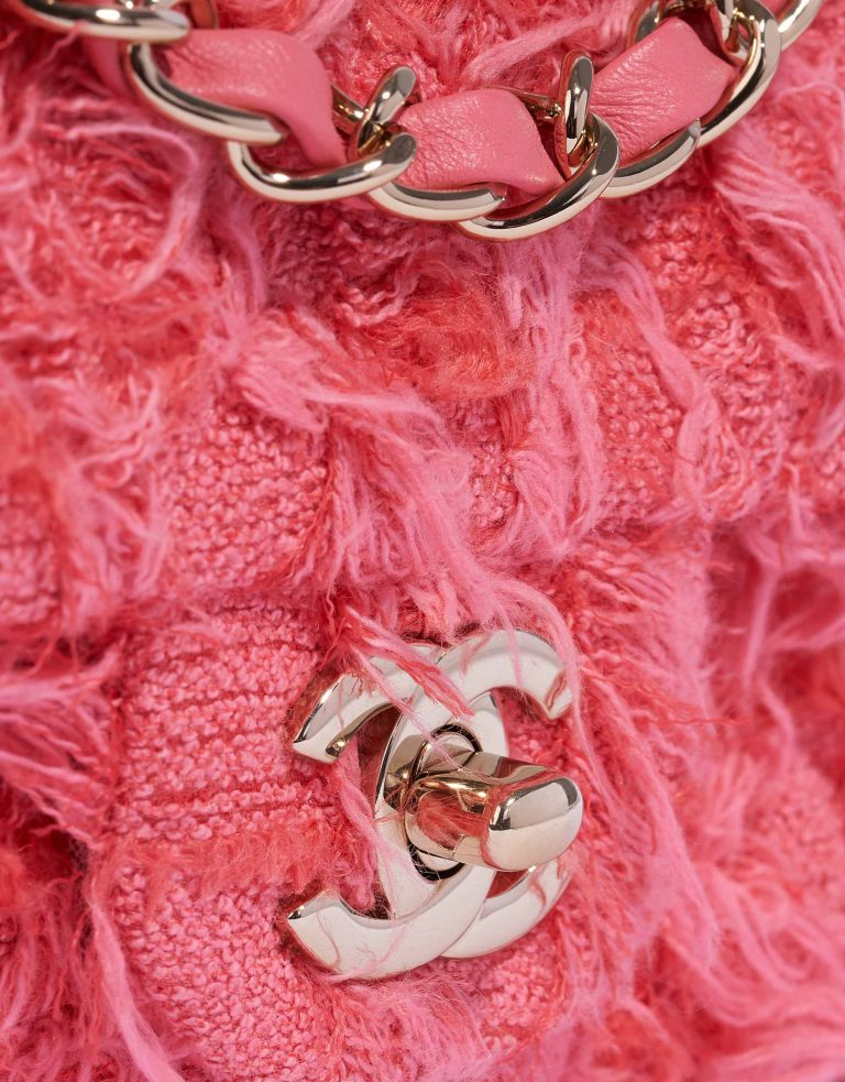Chanel Timeless Mini Rectangular Tweed Coral
