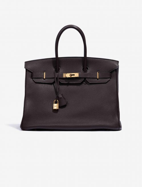 Hermès Birkin 35 Clemence Chocolate SACLÀB