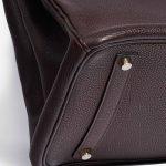 Hermès Birkin 35 Clemence Chocolate