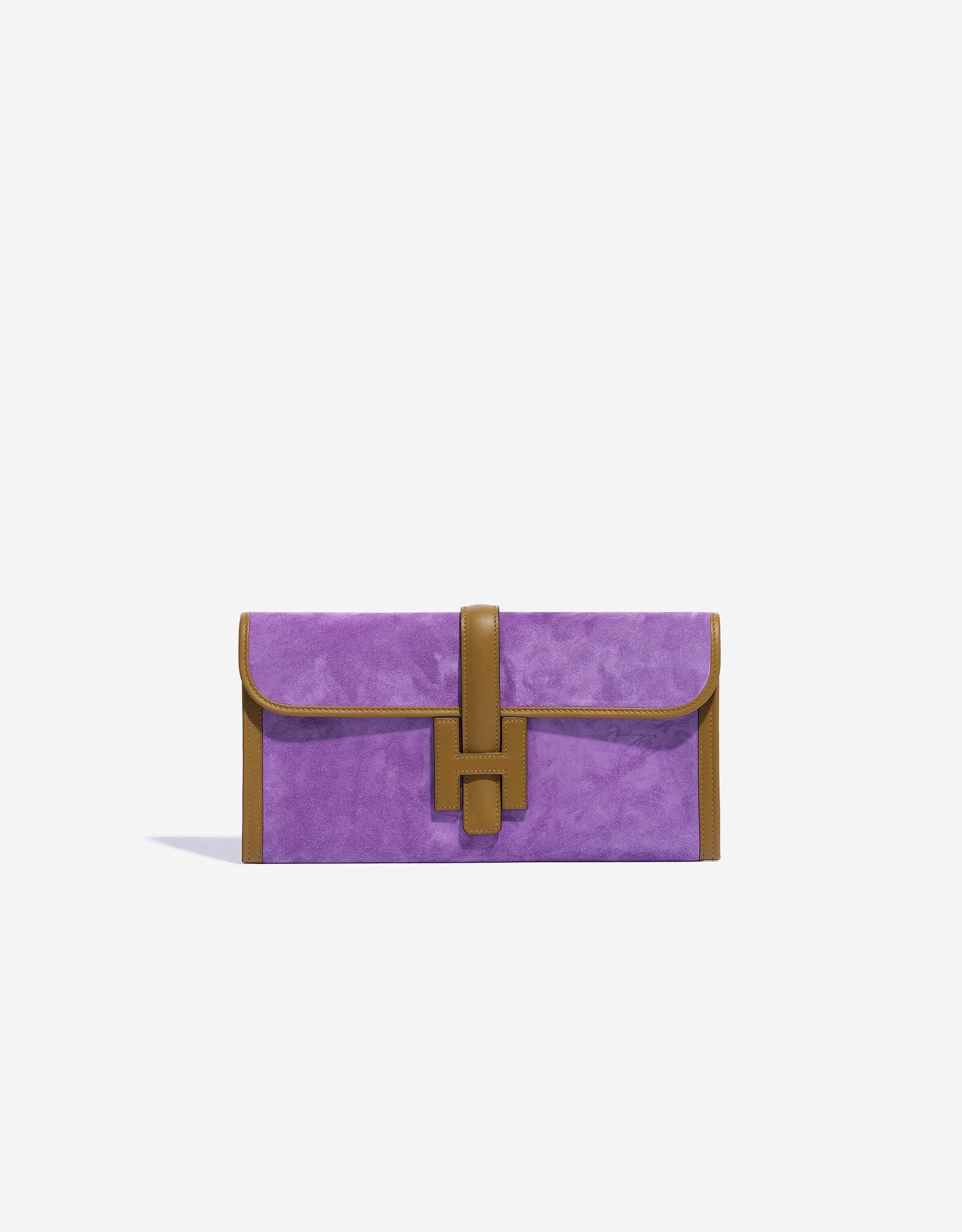 Hermès Jige 29 Doblis / Swift Violet Clair / Kraft | SACLÀB