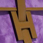 Hermès Jige 29 Doblis / Tadelakt Violet Clair / Kraft