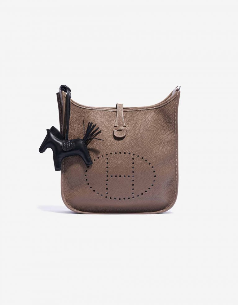 Hermès Rodeo MM Lamb / Alligator Matte SO Black Touch