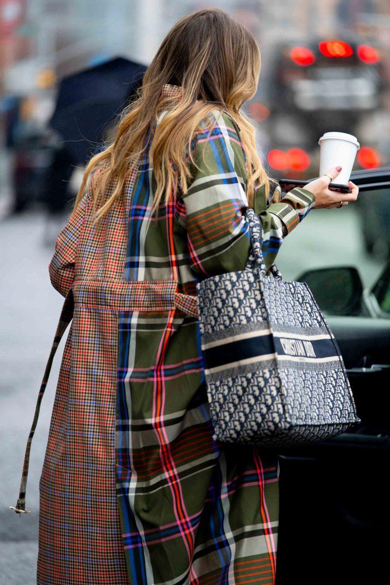Dior Book Tote Streetstyle SACLÀB