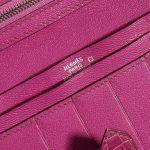 Hermès Wallet Bearn Fuchsia Alligator