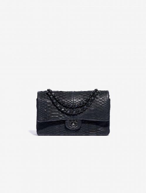 Chanel Timeless Medium Python So Black